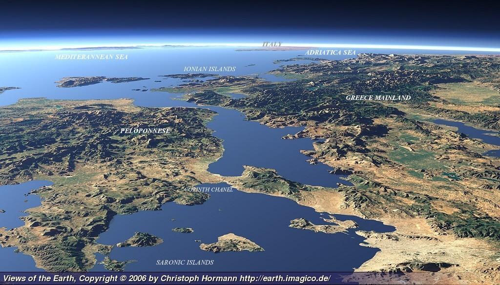 Google Map Of Kastellorizo Megisti Island Map